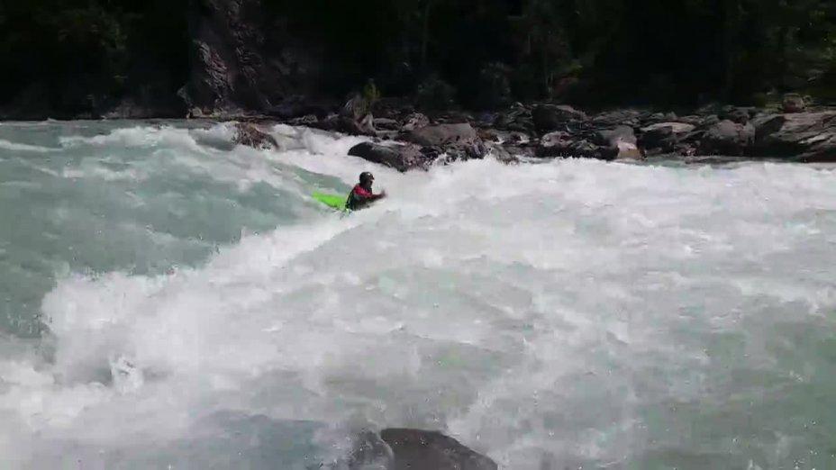 Kanu Camp 2015 Eygliers - Rabioux Wave