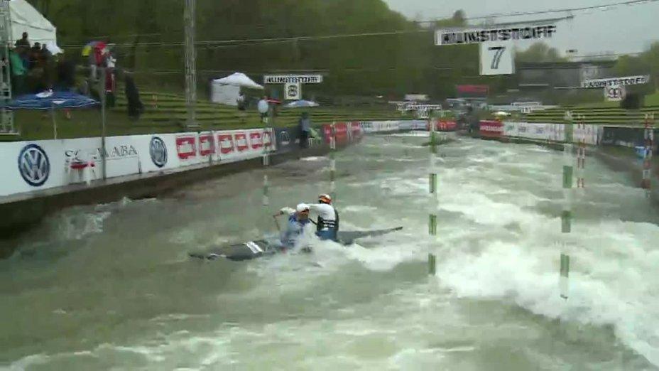 Behling / Becker - Quali 2015 |Rennen 4|C2-Herren-Finale / Augsburg