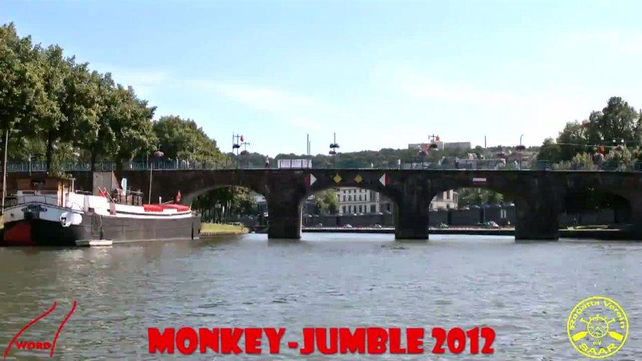 Monkey-Jumble 2012 Streckenverlauf in Zeitraffer
