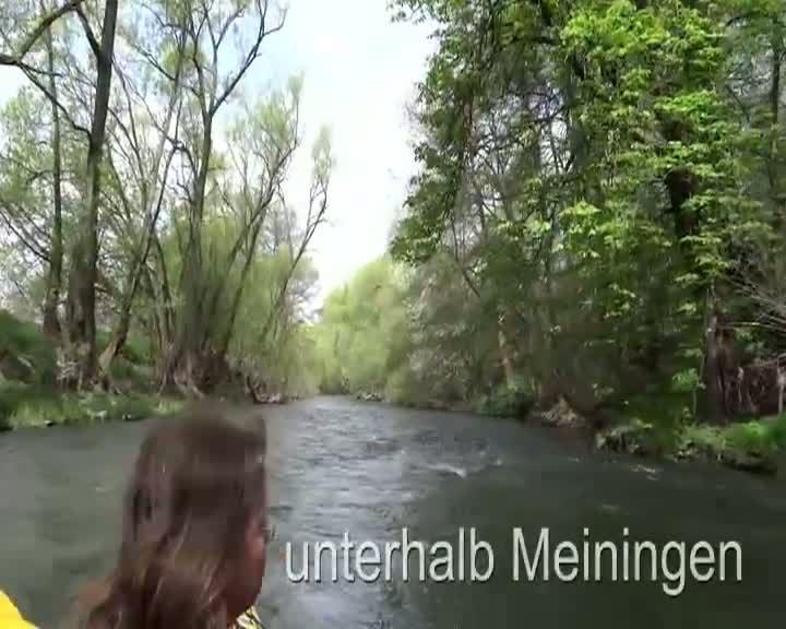 Frühlingstouren auf Werra und Weser 2013