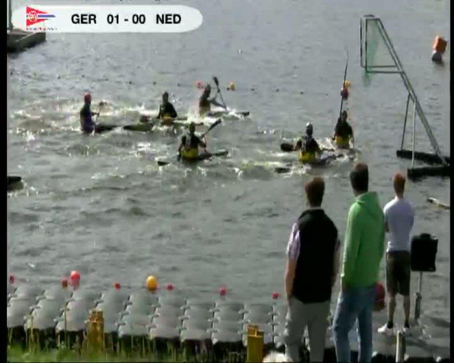 Deutschland gegen Niederlande beim 40. internationalen Deutschland Cup in Essen