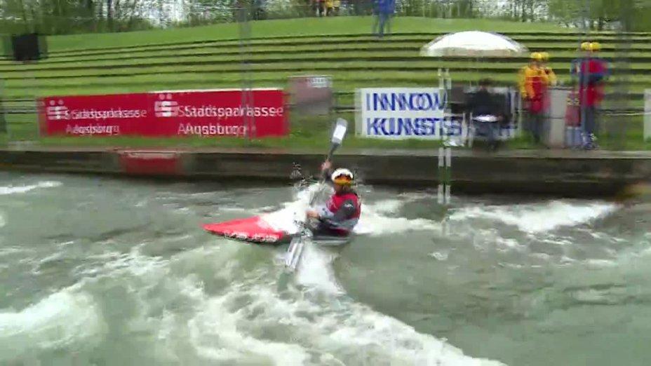 Hannes Aigner - Quali 2015 |Rennen 4|K1-Herren-Finale / Augsburg