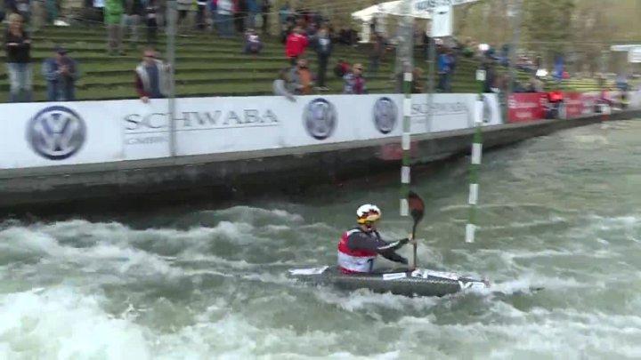 Hannes Aigner Finale Rennen 2 Olympiaquali 2016 - 1. Platz