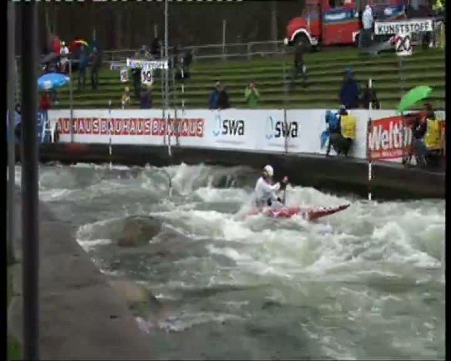 Jan Benzien Olympia-Quali 2012 A-Finale C1 22.04.2012