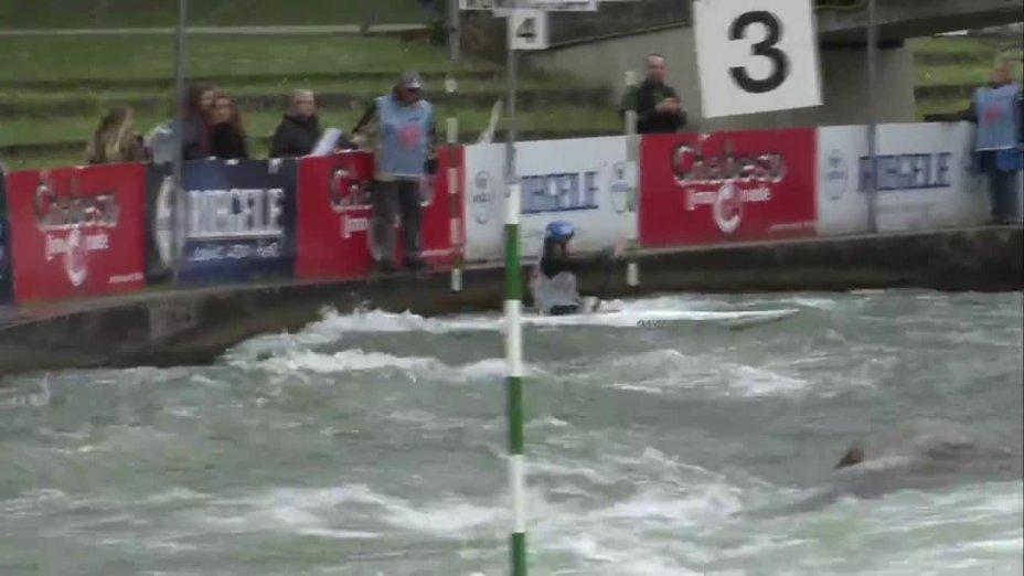 Birgit Ohmayer - Quali 2015 |Rennen 3|C1-Damen-Finale / Augsburg