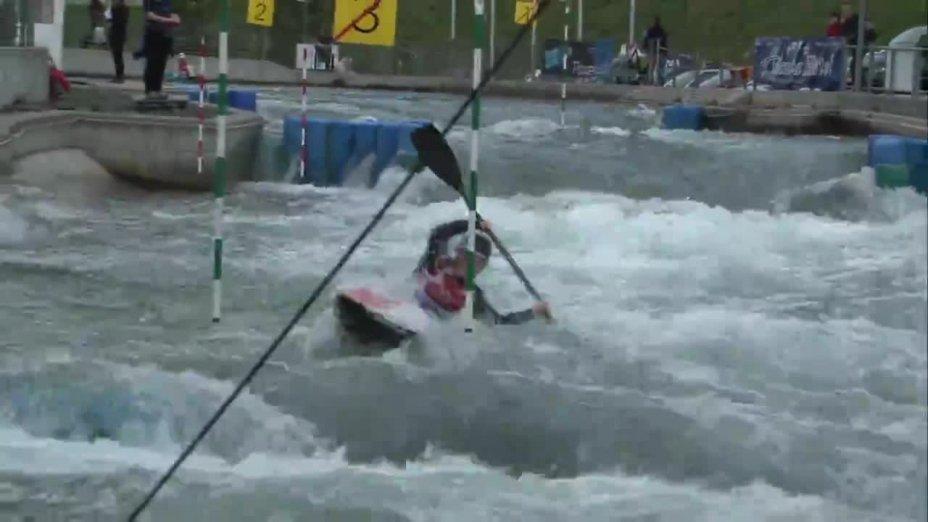 Lisa Fritsche - Quali 2015 |Rennen 2|K1-Damen-Finale / Markkleeberg