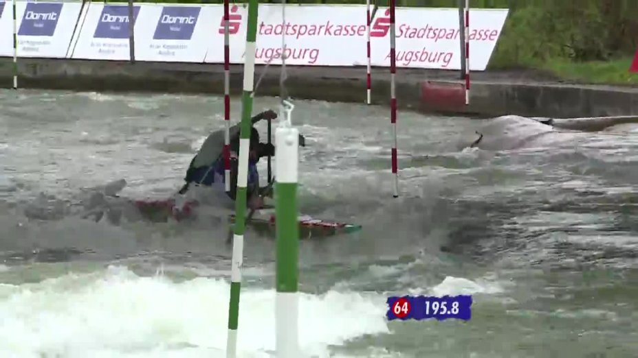 Finale 1 mit Kommentar von Peter Grube - Quali 2015 |Rennen 3| Augsburg / 02.05.2015