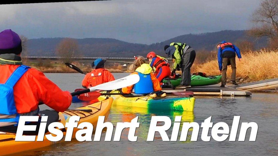 Rintelner Eisfahrt,   Hameln - Rinteln Kanuclub