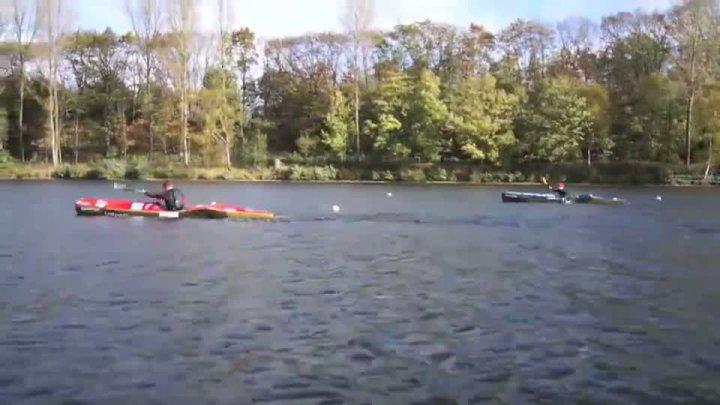 Bundeskaderlehrgang Kanu-Wildwasserrennsport 2012 - Training der Kajak Damen