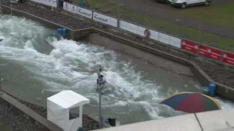 HRADILEK VAVRINEC - FINAL Run | 2015 ICF Canoe Slalom Ranking - Markkleeberg