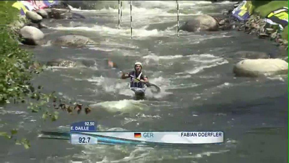 Kanu-Slalom Welt-Cup La Seu d´Urgell - Fabian Dörfler