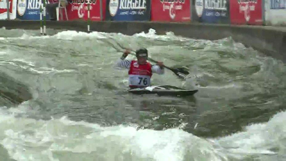 Jürgen Kraus - Quali 2015 |Rennen 4|K1-Herren-Finale / Augsburg