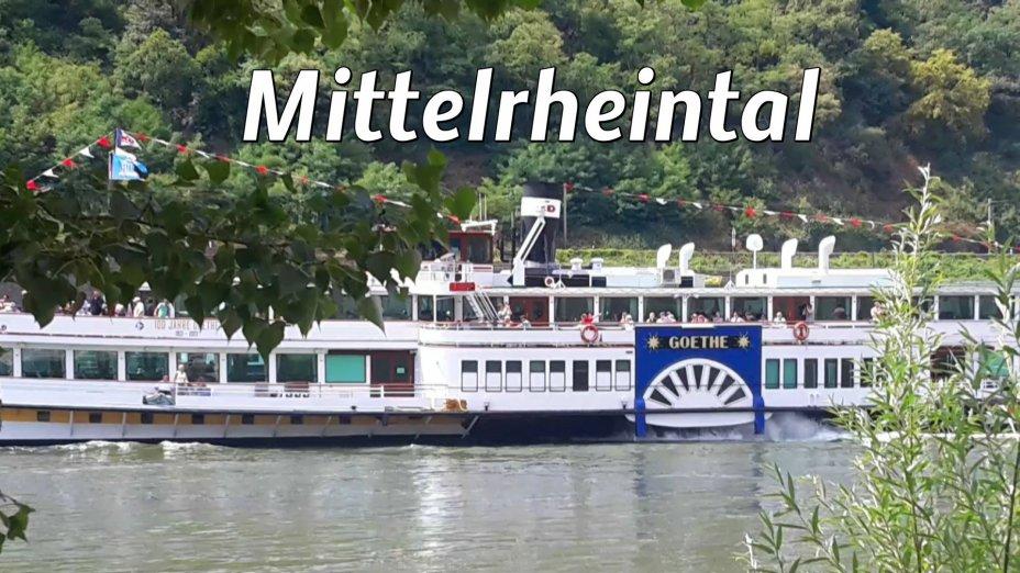 Mittelrheinfahrt, Guntersblum - Düsseldorf