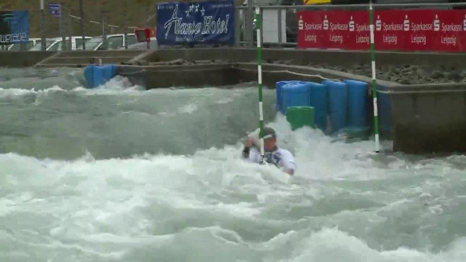 Pennie Fiona - FINAL Run | 2015 ICF Canoe Slalom Ranking - Markkleeberg