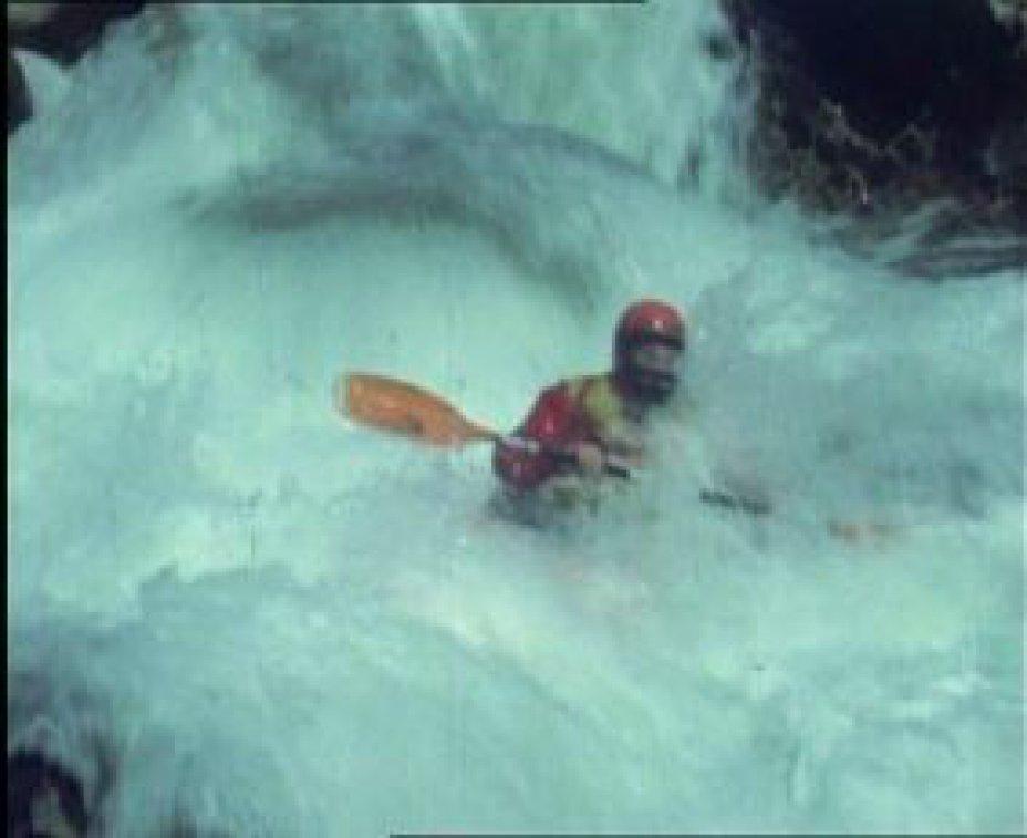 Mit Kajak auf Korsika's Wasserfällen (Ostern 1984)