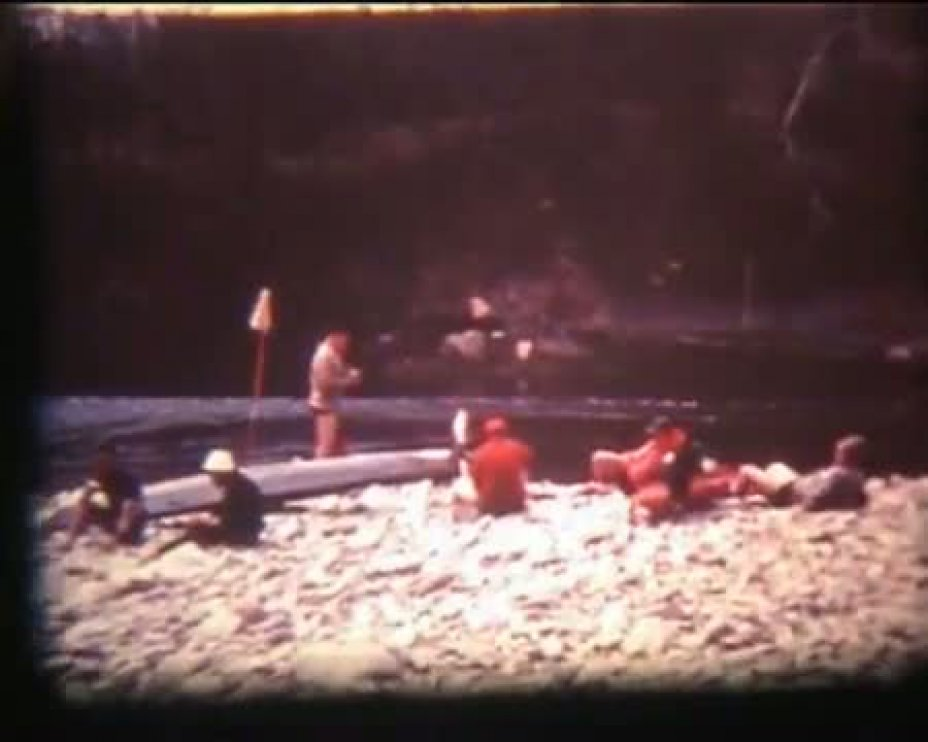 TANARO RIVER 1966, CUNEO, ITALY (1 of 2)