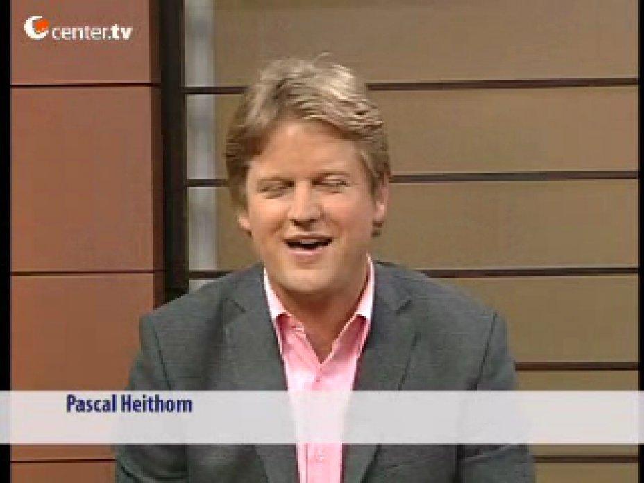 Mira Louen und Rüdiger Hübbers Lüking bei CenterTV Düsseldorf
