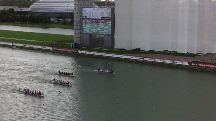Drachenboot-WM: 10er Race 500m Mixed 40+