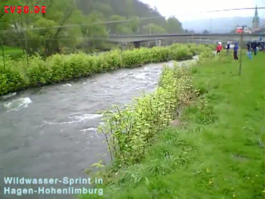 Wildwassersprint in Hohenlimburg 2012 / Rangliste, WDM und Hessische Meisterschaften im Lenne-Kanal