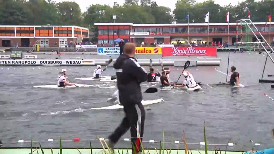 Kanupolo DM 2014 - AAC Hamburg - KRM Essen (Bundesliga Herren Finale 1)
