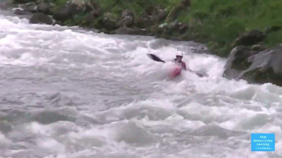 Qualifiaktionsrennen für die Wildwasserrennsport-Weltmeisterschaft in La Plagne 2012