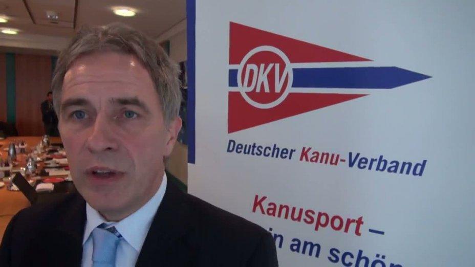 Kanu-Rennsport WM 2013 - Interview mit Wolfram Götz - DKV-Generalsekretär