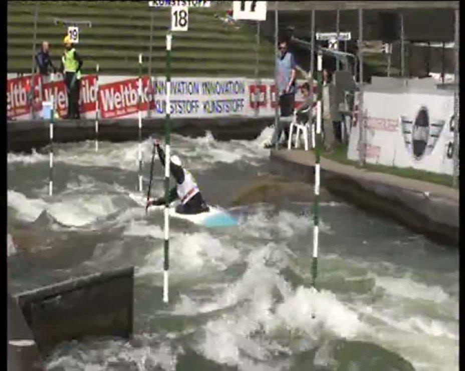 Simon Schwanholt Olympia-Quali 2012 A-Finale C1M 21.04.2012