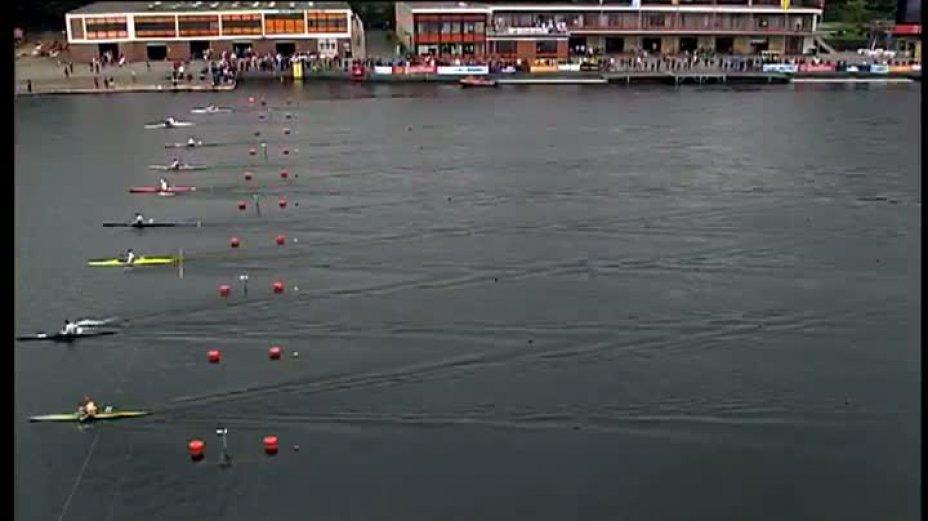Kanu-Rennsport Weltcup 2011 Duisburg / Sprint K1 Men 200m Final