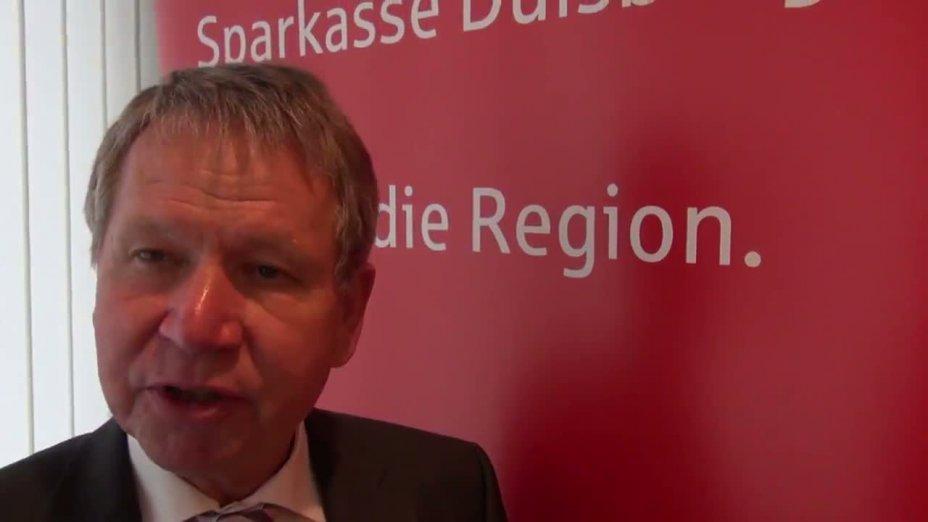 Kanu-Rennsport WM 2013 - Interview mit Hans-Werner Tomalak - Sparkasse Duisburg Vorstandsvorsitzender