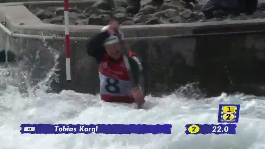 Herren K1 A-Finale 20.04.2013 Qualifikation Kanu-Slalom in Markkleeberg