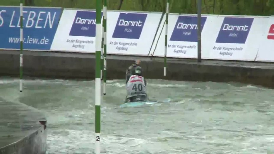 Lena Stöcklin - Quali 2015 |Rennen 4|C1-Damen-Finale / Augsburg