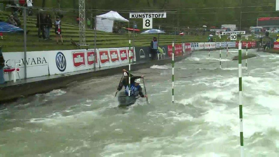 Witkowski / Sommer - Quali 2015 |Rennen 4|C2-Herren-Finale / Augsburg