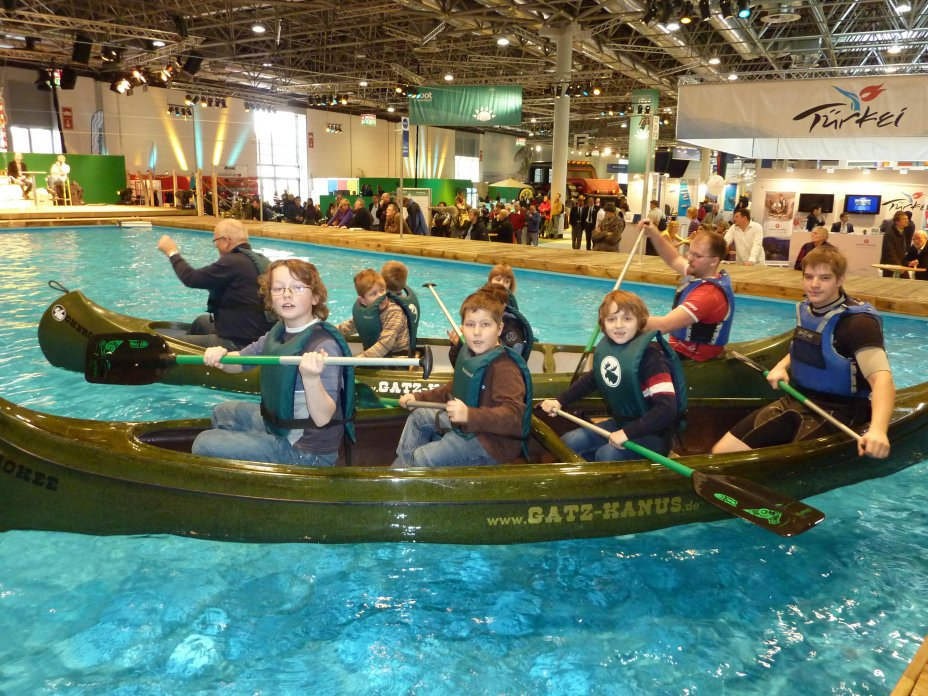 Boot 2011 mit der World of Paddling