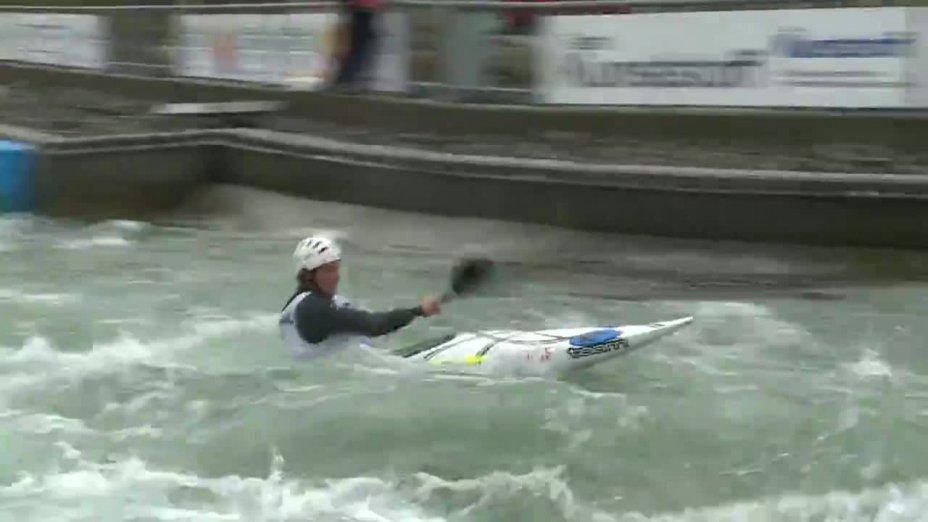 Guillaume Benoit - FINAL Run | 2015 ICF Canoe Slalom Ranking - Markkleeberg