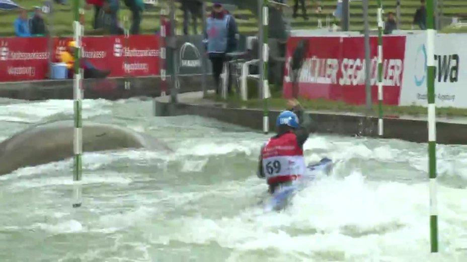 Samuel Hegge - Quali 2015 |Rennen 3|K1-Herren-Finale / Augsburg