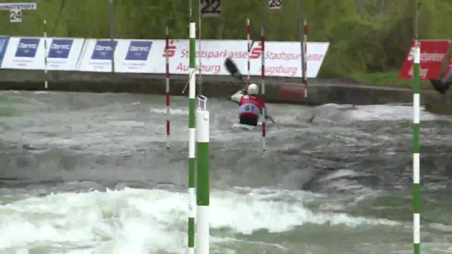 Alexander Grimm - Quali 2015 |Rennen 3|K1-Herren-Finale / Augsburg