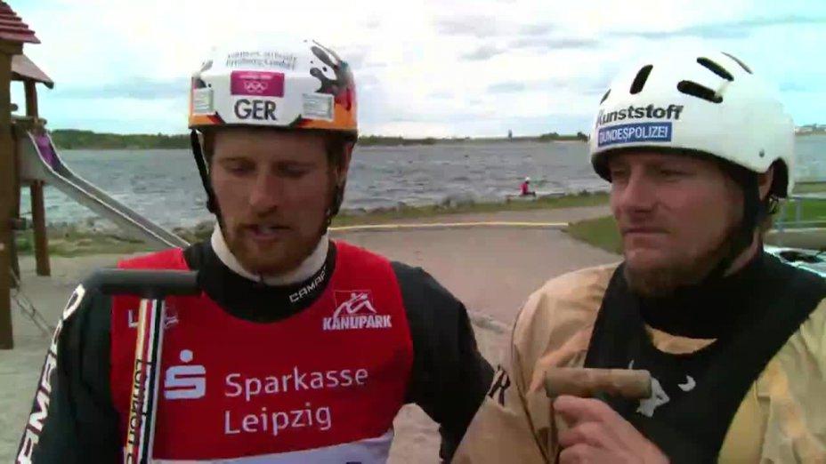 O-Ton Schröder/Bettge - 4. Qualifikationsrennen 2014