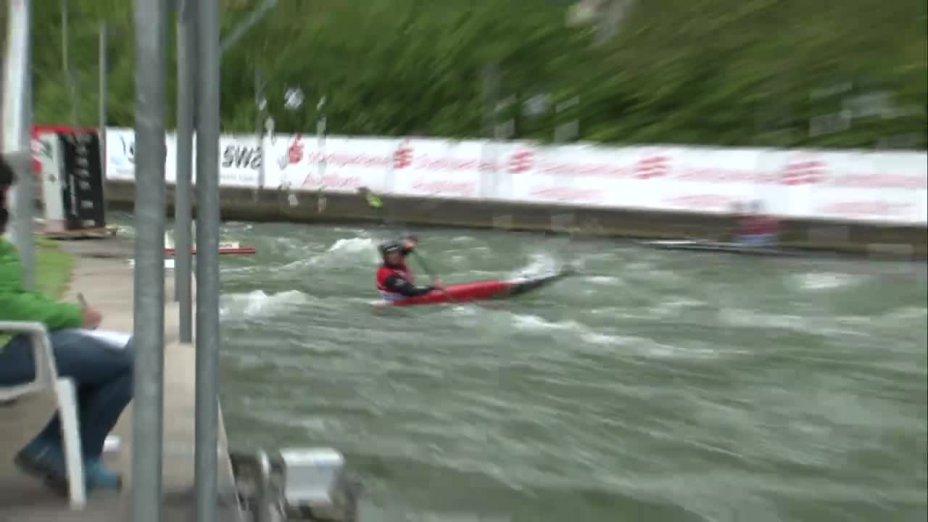 Tim Maxeiner - Quali 2015 |Rennen 3|K1-Herren-Finale / Augsburg