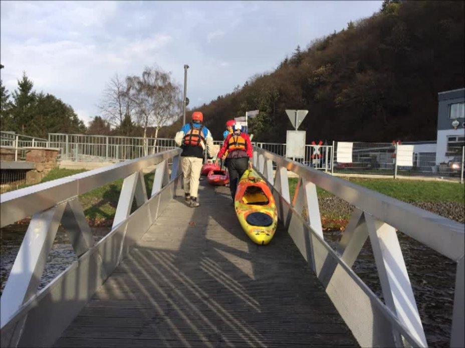 2015 auf der mittleren Rur von Heimbach nach Obermaubach