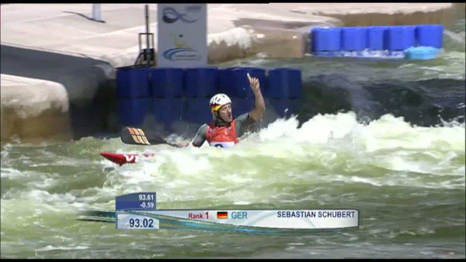 Kanu-Slalom Welt-Cup Cardiff (GB) - Sebastian Schubert