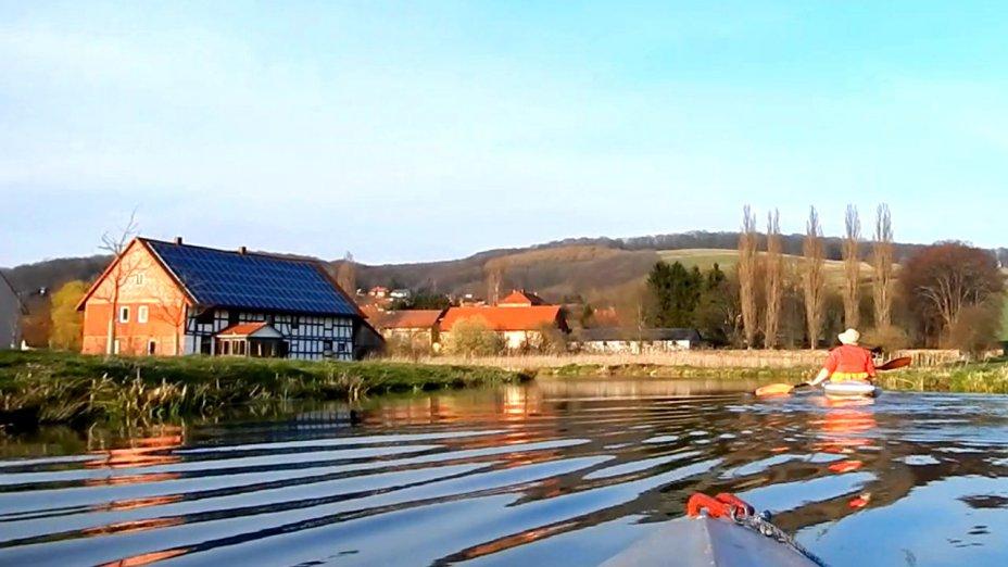 Oberlauf der Leine II,  Besenhausen