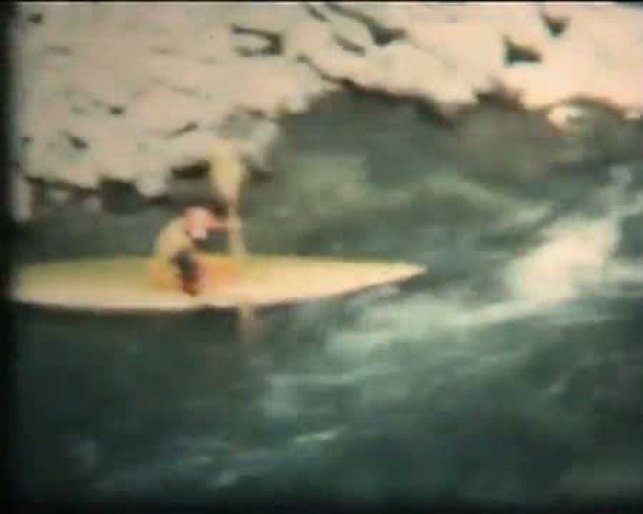 DURANCE CANOE KAYAK 1976, HAUTES ALPES (FRANCE)