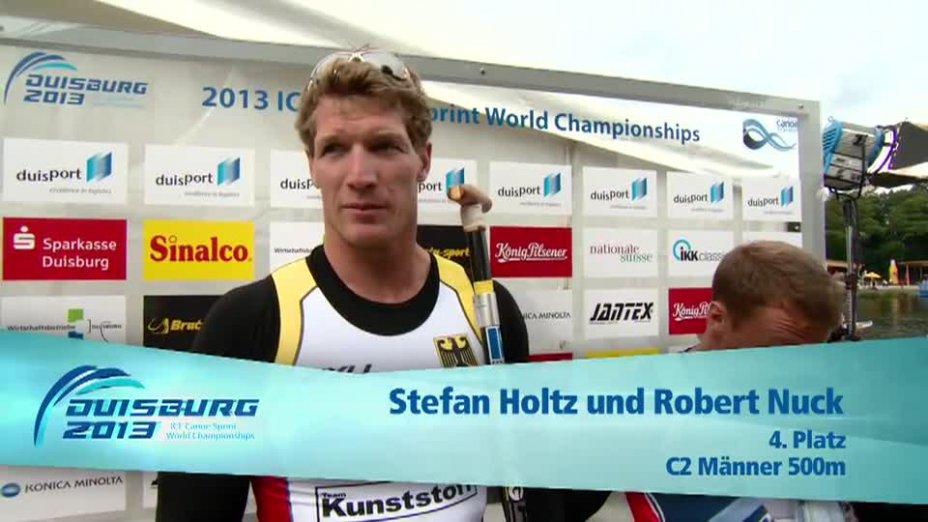 Holtz / Nuck O-Ton - C2 500m 4. Platz - Kanu WM 2013 Duisburg