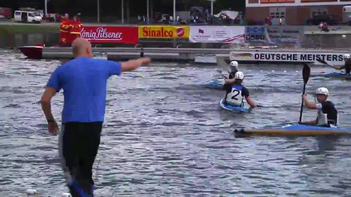 Kanupolo DM 2014 - 1. Meidericher KC - VMW Berlin (Junioren Finale)
