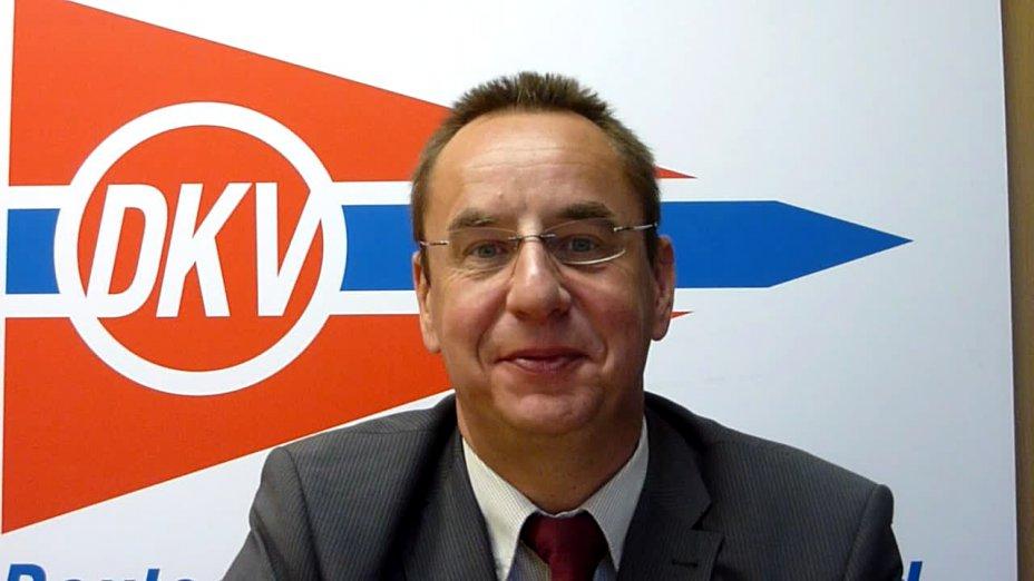 Begrüßung zur Zentralen Ressorttgaung durch DKV-Präsident Thomas Konietzko
