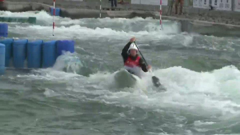 Juniorinnen C1 Qualifikationslauf 20.04.2013 Qualifikation Kanu-Slalom in Markkleeberg
