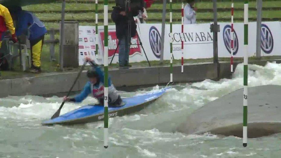 Stephanie Hein - Quali 2015 |Rennen 4|C1-Damen-Finale / Augsburg