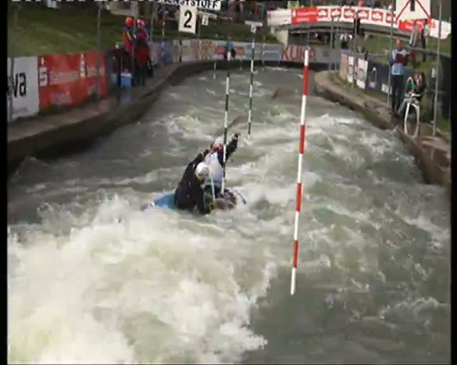 Schröder / Henze Olympia-Quali 2012 A-Finale C2M 21.04.2012