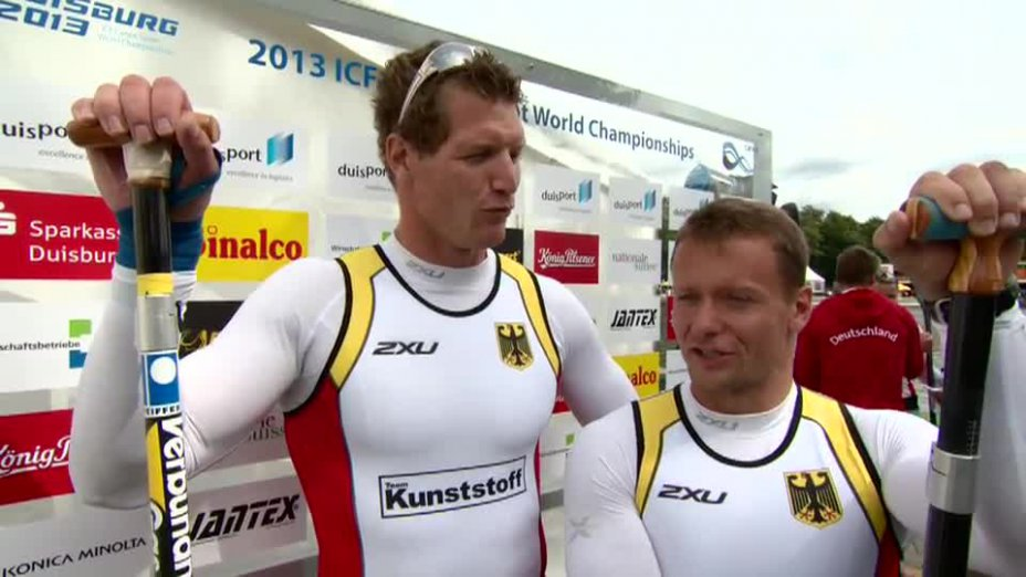 Holtz / Nuck O-Ton - C2 200m GOLD - Kanu WM 2013
