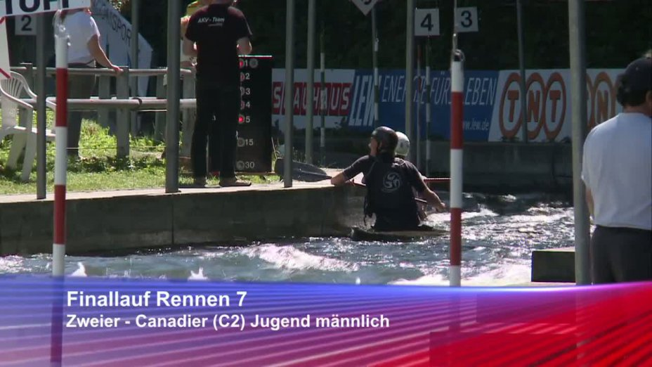 Rennen 7, Finale, DJJM 2012 Augsburg, C2 Jugend männlich